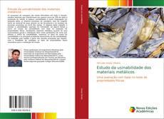 Portada del libro de Estudo da usinabilidade dos materiais metálicos
