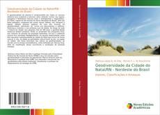 Capa do livro de Geodiversidade da Cidade do Natal/RN - Nordeste do Brasil