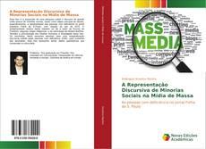 Capa do livro de A Representação Discursiva de Minorias Sociais na Mídia de Massa