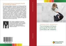 Buchcover von Terminologia bilíngue português-francês de contratos de trabalho