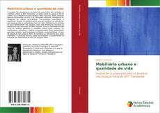 Bookcover of Mobiliário urbano e qualidade de vida