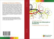 Capa do livro de O Diálogo em Educação a Distância