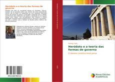 Heródoto e a teoria das formas de governo kitap kapağı
