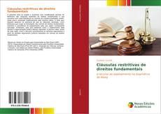 Bookcover of Cláusulas restritivas de direitos fundamentais