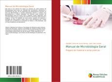 Couverture de Manual de Microbiologia Geral