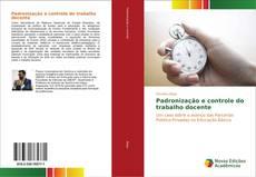 Capa do livro de Padronização e controle do trabalho docente