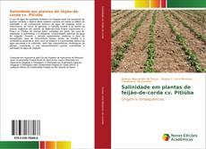Bookcover of Salinidade em plantas de feijão-de-corda cv. Pitiúba
