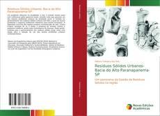 Capa do livro de Resíduos Sólidos Urbanos- Bacia do Alto Paranapanema-SP