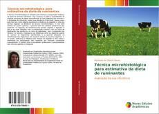 Copertina di Técnica microhistológica para estimativa da dieta de ruminantes