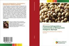 Capa do livro de Etnossociolinguística: Letramento e Bilinguismo Indígena Apinajé