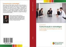 Capa do livro de Comunicação e estratégia