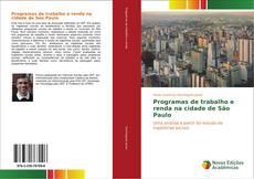 Capa do livro de Programas de trabalho e renda na cidade de São Paulo
