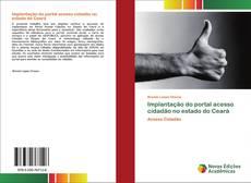 Bookcover of Implantação do portal acesso cidadão no estado do Ceará