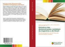 Capa do livro de Estrutura das demonstrações contábeis da Argentina e do Brasil