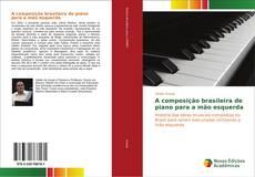 Обложка A composição brasileira de piano para a mão esquerda
