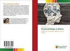 Capa do livro de Fonoaudiologia e Afasia