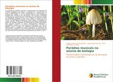 Capa do livro de Paródias musicais no ensino de biologia