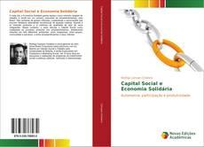 Portada del libro de Capital Social e Economia Solidária