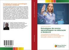 Capa do livro de Estratégias de ensino aprendizagem na educação a distância