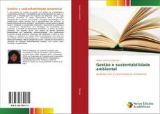 Capa do livro de Gestão e sustentabilidade ambiental