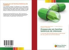 Prospecção em famílias botânicas de interesse kitap kapağı