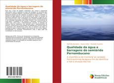 Capa do livro de Qualidade da água e barragens do semiárido Pernambucano