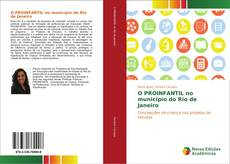 Capa do livro de O PROINFANTIL no município do Rio de Janeiro