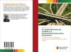 Borítókép a  O cooperativismo de crédito e o desenvolvimento sócio-econômico - hoz