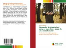 Capa do livro de Educação Ambiental no campo: estudo de caso de uma escola rural