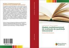 Copertina di Modelo multidimensional de avaliação da qualidade educacional