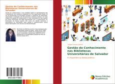 Bookcover of Gestão do Conhecimento nas Bibliotecas Universitárias de Salvador