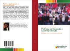 Copertina di Política, participação e sustentabilidade