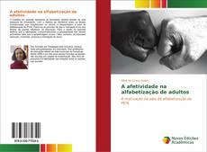 Capa do livro de A afetividade na alfabetização de adultos