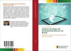 Capa do livro de Análise do Setor de Saneamento Básico no Brasil