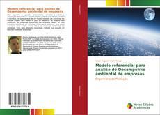 Bookcover of Modelo referencial para análise de Desempenho ambiental de empresas