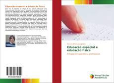 Portada del libro de Educação especial e educação física