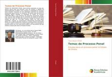 Capa do livro de Temas de Processo Penal