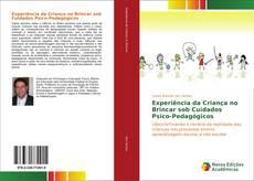 Capa do livro de Experiência da Criança no Brincar sob Cuidados Psico-Pedagógicos