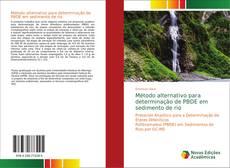 Обложка Método alternativo para determinação de PBDE em sedimento de rio