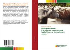 Bookcover of Aboio no Sertão Paraibano, um canto no trabalho, um trabalho no canto