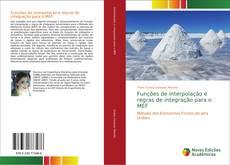 Capa do livro de Funções de interpolação e regras de integração para o MEF