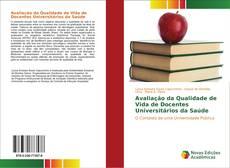 Portada del libro de Avaliação da Qualidade de Vida de Docentes Universitários da Saúde