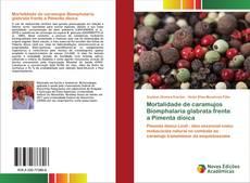 Capa do livro de Mortalidade de caramujos Biomphalaria glabrata frente a Pimenta dioica