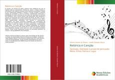 Buchcover von Retórica e Canção