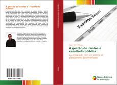 Borítókép a  A gestão de custos e resultado pública - hoz