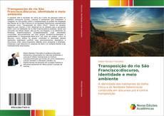Capa do livro de Transposição do rio São Francisco:discurso, identidade e meio ambiente