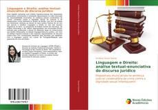 Capa do livro de Linguagem e Direito: análise textual-enunciativa do discurso jurídico