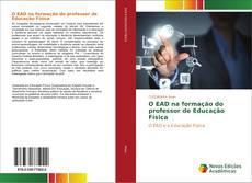 Capa do livro de O EAD na formação do professor de Educação Física