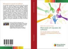 Motivação em equipes de software kitap kapağı