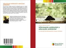 Couverture de Informação ambiental e educação ambiental